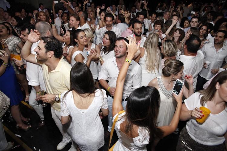 Réveillon de 2015 no hotel Tivoli (Divulgação)