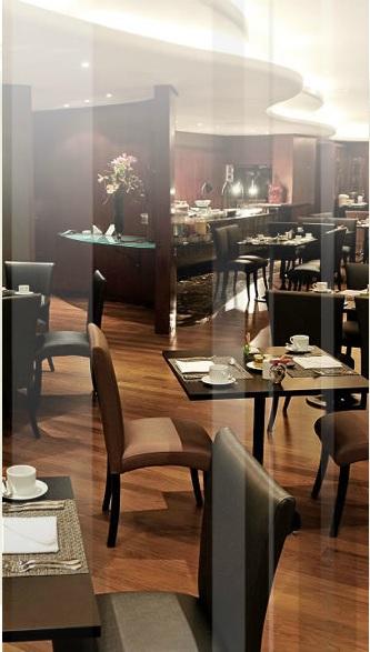 Ambiente do restaurante Tarsila (Divulgação)