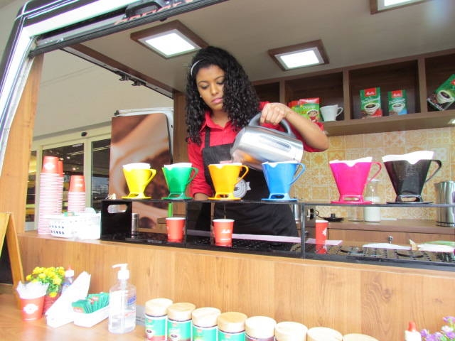 Coffee truck da Melitta