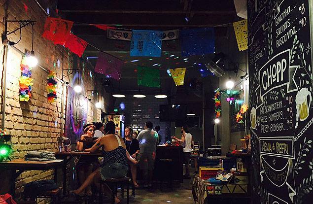 Ambiente do bar O Sobrado