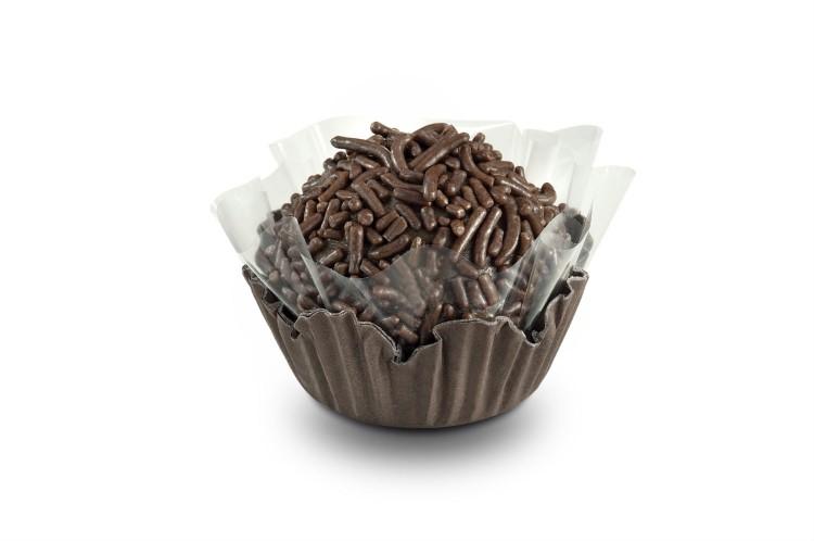 Brigadeiro de chocolate da Amor aos Pedaços